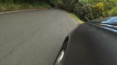 Driving POV mountain rainforest Puerto Rico HD 0246 Stock Footage