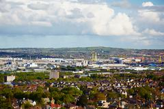 Belfast outskirts Stock Photos