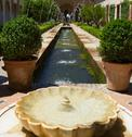 Stock Photo of generalife gardens, granada,
