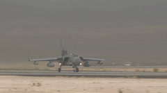 Stock Video Footage of RAF Tornado GR4 at Red Flag