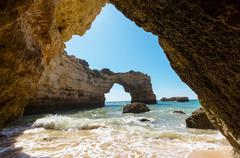 Portugal coast Stock Photos