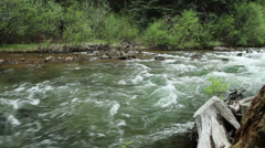 Whitewater River with Audio Stock Footage