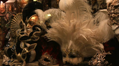 Venice shop window (tilt shot) Stock Footage
