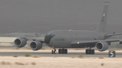 KC-135 Stratotanker at Red Flag Stock Footage