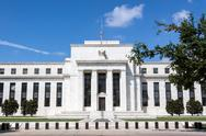Stock Photo of Federal Reserve Bank, Washington, DC