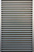 aluminum doors of background. - stock photo