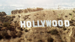 LOS ANGELES, CALIFORNIA – JULY 25, 2009: Shot from aircraft at about 1,500'MSL Stock Footage