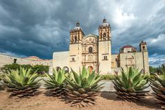 Church of santo domingo de guzman in oaxaca, mexico Stock Photos