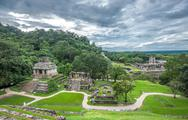 Stock Photo of ruins of palenque, mexico