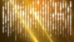 Orange Stars Magical Fantasy Background Stock Footage
