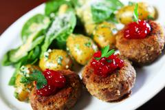 Polish meatballs Stock Photos