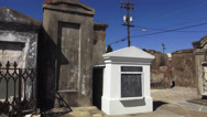 Stock Video Footage of New Orleans St. Louis Cemetery No.1 old graves
