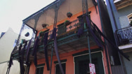 Stock Video Footage of New Orleans French Quarter