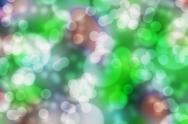 Stock Photo of green bokeh abstract.