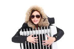 radiator - stock photo