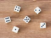 Stock Photo of casino dices