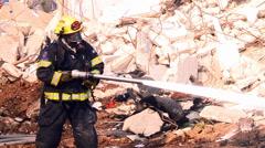 Fireman Stock Footage