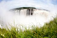 Stock Photo of waterfall in misiones, provincia argentina