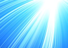 Abstract rays of light on sky blu, abstract texture Stock Illustration