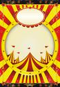 Stock Illustration of circus entertainment poster