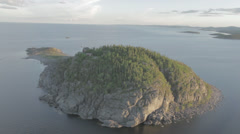 Hogbonden, World Heritage Site Hoga kusten - stock footage