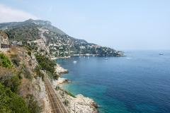Cap d'ail (cote d'azur) Stock Photos