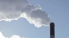 Industrial smog Stock Footage