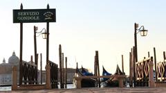 Servizio Gondole, Venice Stock Footage