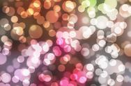 Stock Photo of colors bokeh abstract background.