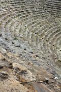 Ancient amphitheater in turkey Stock Photos