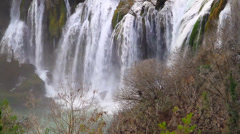 Kravice is a waterfall on the Trebižat River in Bosnia and Herzegovina Stock Footage