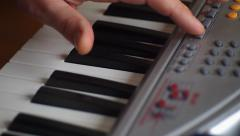Synthesizer Stock Footage