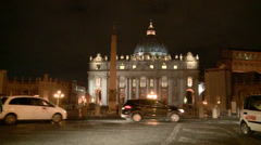 Basilica of St. Peter Stock Footage