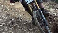 Stock Video Footage of Downhill Biking Splash Collection Vol2