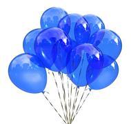 Blue festive balloons Stock Illustration