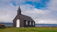Stock Video Footage of Wooden church