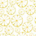Stock Illustration of vector lemon pattern