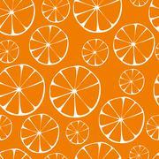 vector orange pattern - stock illustration