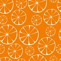 Stock Illustration of vector orange pattern
