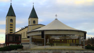 Stock Video Footage of Medjugorje Church