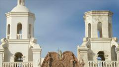 Mission San Xavier del Bac - stock footage