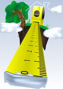 measure your dream - stock illustration