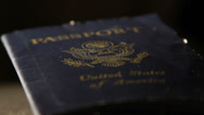 Stock Video Footage of Passport