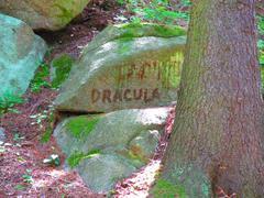 Dracula stone Stock Photos