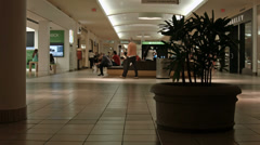 Shopping Mall girls dancing to game machine HD BM 1954 Stock Footage