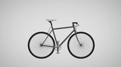 Bike morph animation Stock Footage