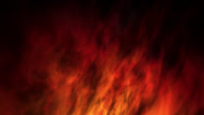 Stock Video Footage of Loopable abstract fractal style fire background