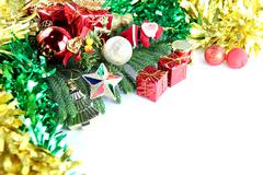 equipment ideas of christmas and new year day. - stock photo