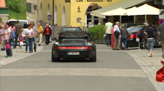 Kitzbühel city centre 02 Stock Footage