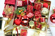 Stock Photo of accessory decorations of christmas or new year.